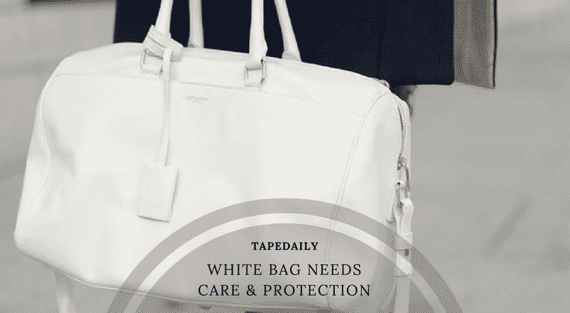white bag needs care protection