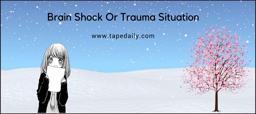 Brain Shock Or Trauma Situation