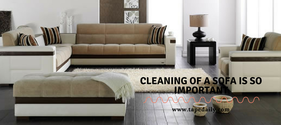 Cleaning of sofa is so important