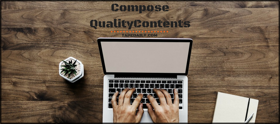 Compose Quality Contents On Wattpad
