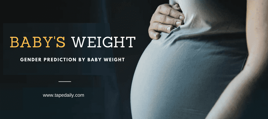 Gender Prediction By Baby Weight