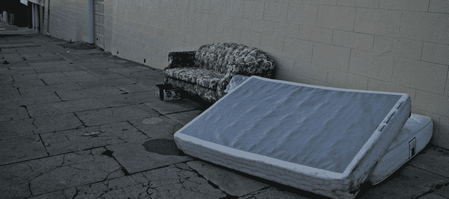 How to clean a mattress you found on a street