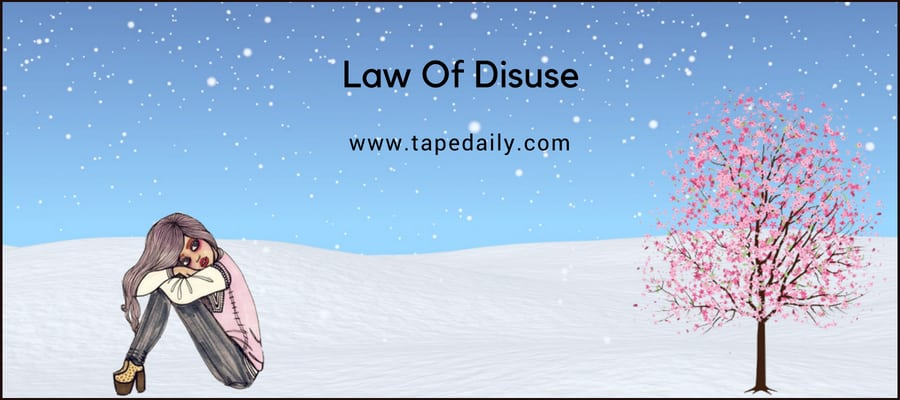 Law Of Disuse