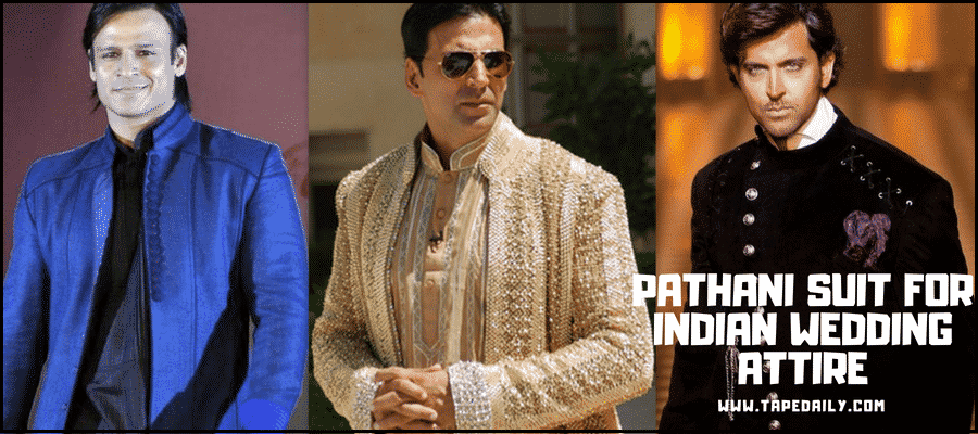 Pathani Suit For Indian Wedding Attire