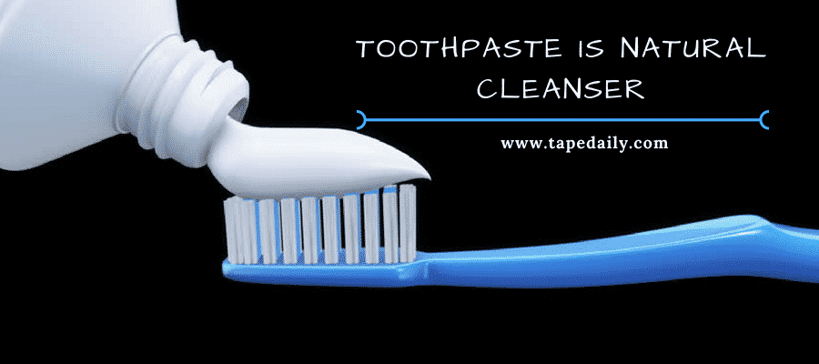 toothpaste is natural cleanser