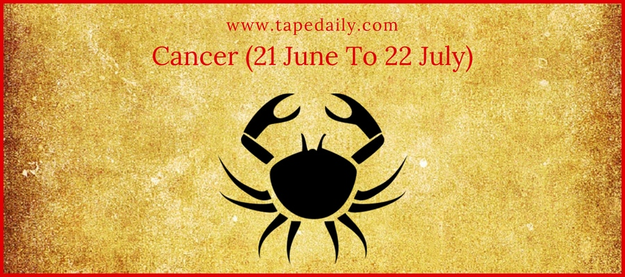 Cancer (21 June To 22 July)