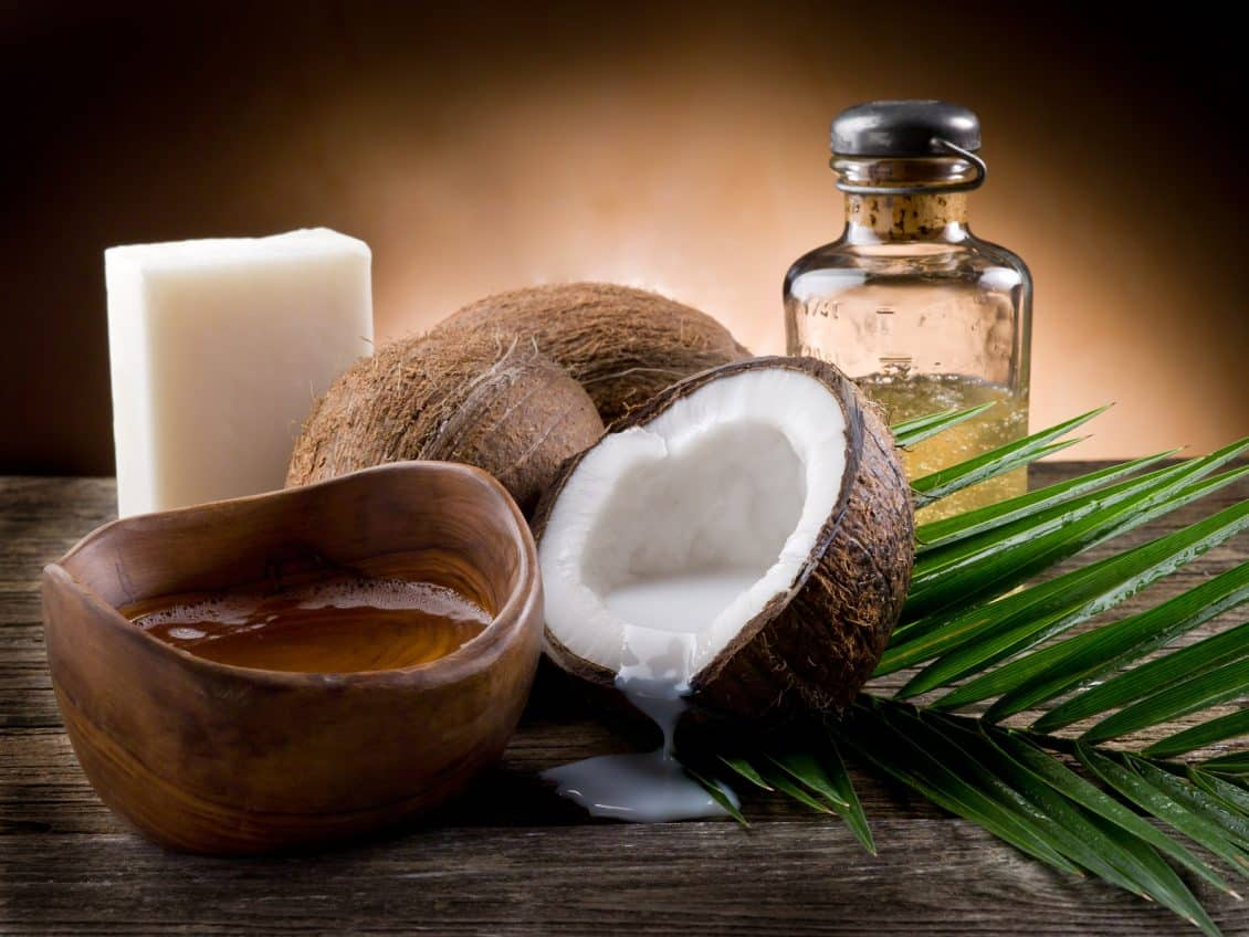 Coconut oil for varicose vein