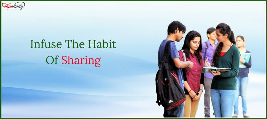 Infuse The Habit Of Sharing