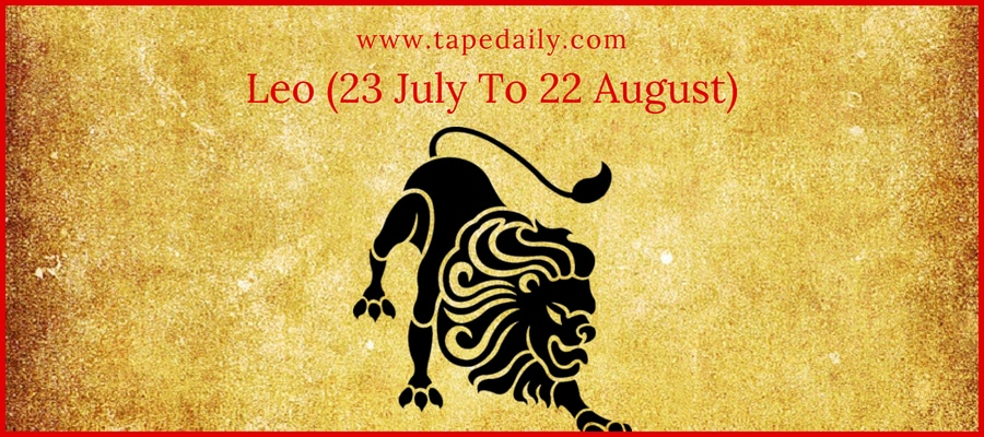 Leo (23 July To 22 August)