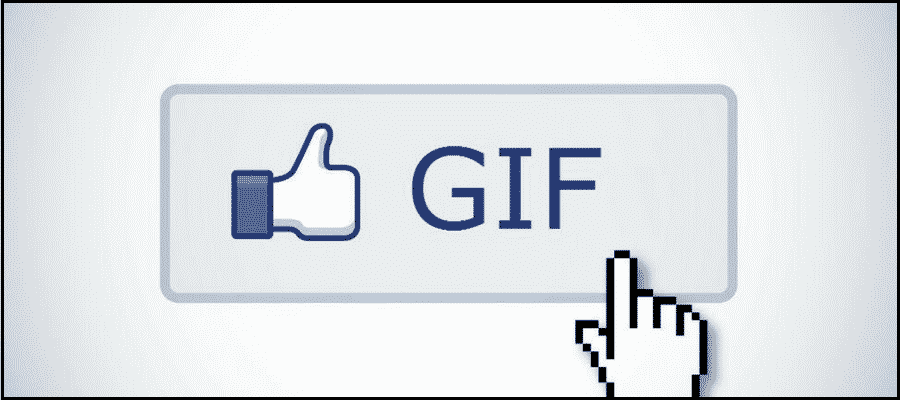 Post a GIF on Facebook Comments