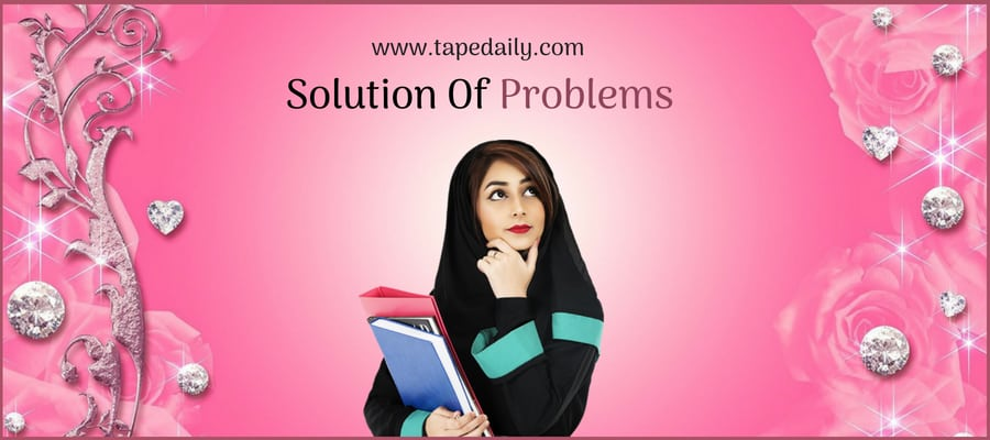 Solution Of Problems