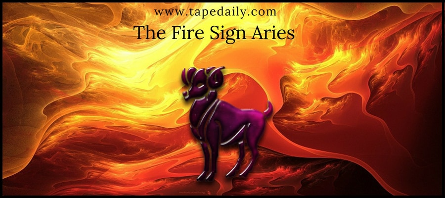 The Fire Sign Aries