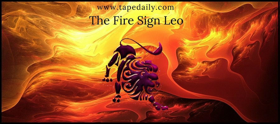The Fire Sign Leo