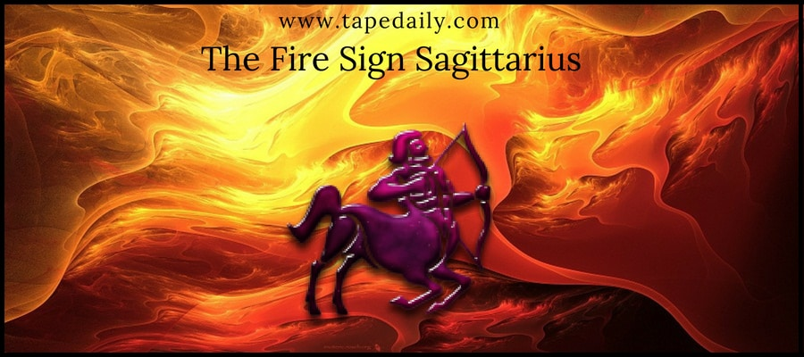 The Fire Sign Sagittarius