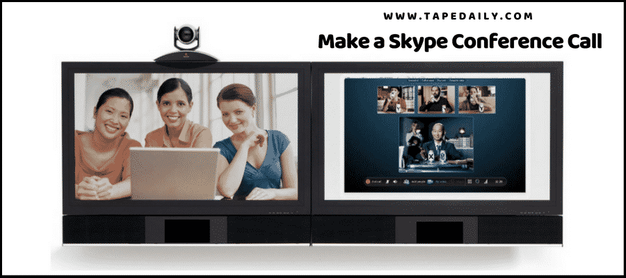 how to Make a Skype Conference Call