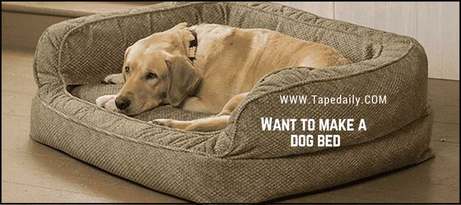 Want to make dog bed