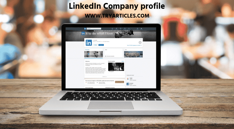 How can I create my Linked-In profile_