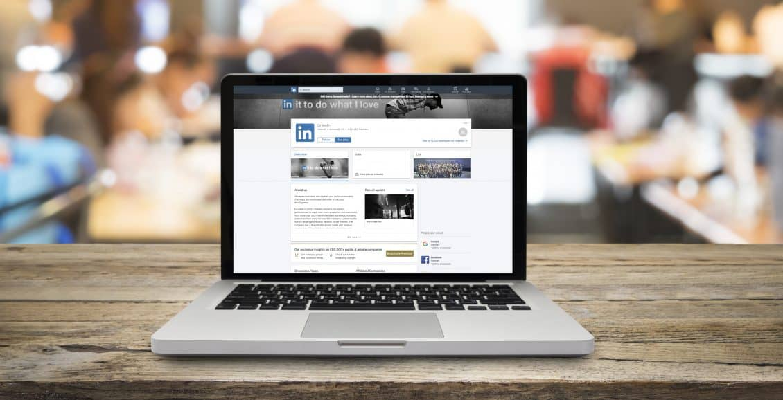 How can I create my LinkedIn company profile including all information?