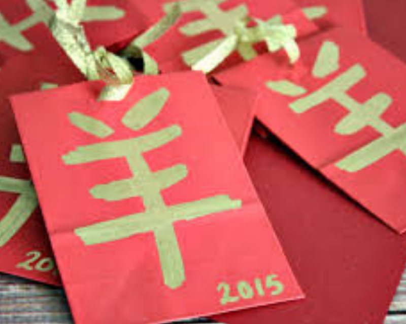 Chinese red envelope wedding: How to Make New Year Envelopes?