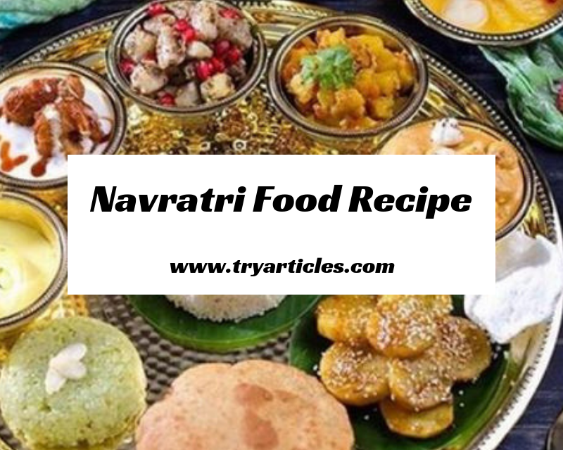 Navratri Food recipie