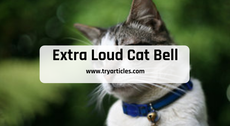 Extra Loud Cat Bell