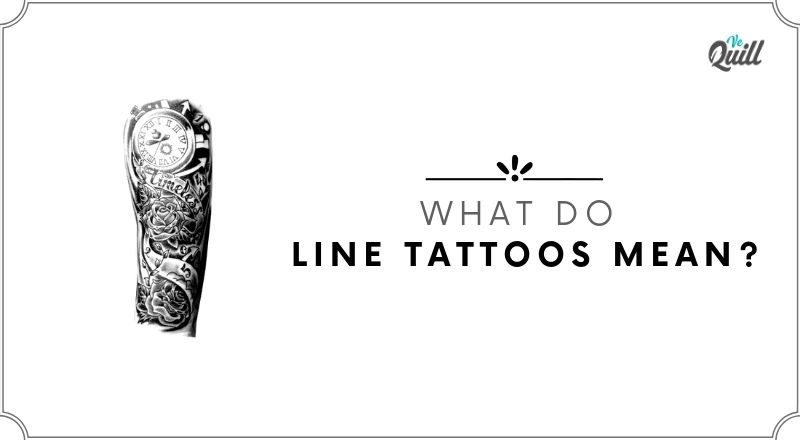 What Do Line Tattoos Mean