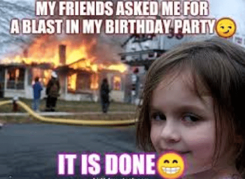 happy birthday meme gif for her