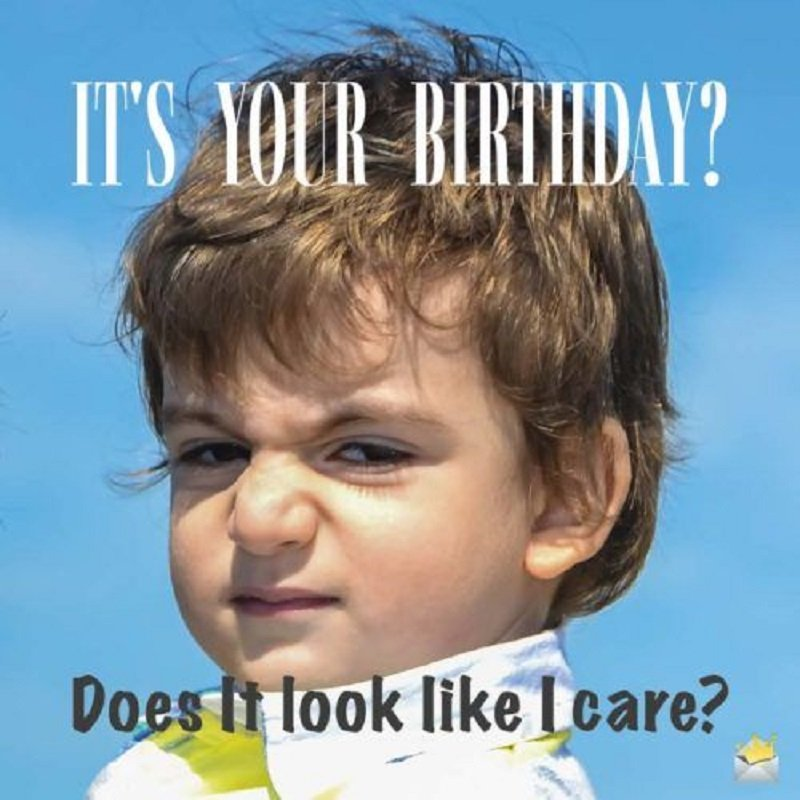 happy birthday mom funny meme