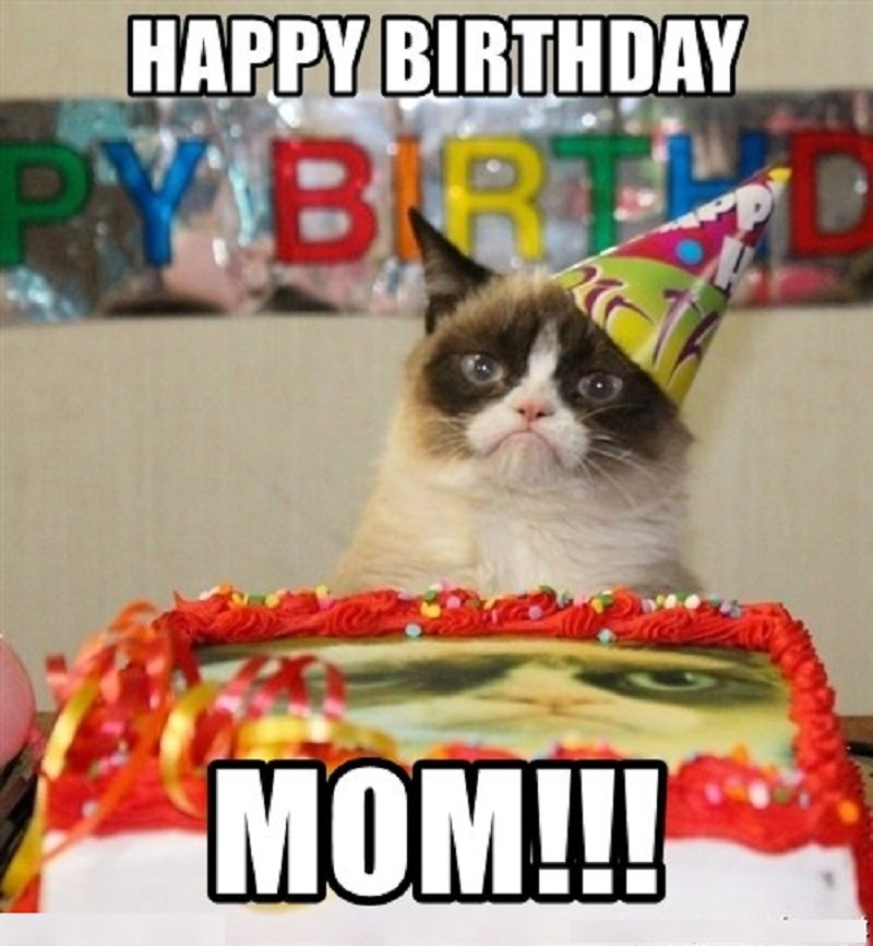 mom happy birthday meme