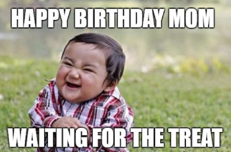 happy birthday to mom meme