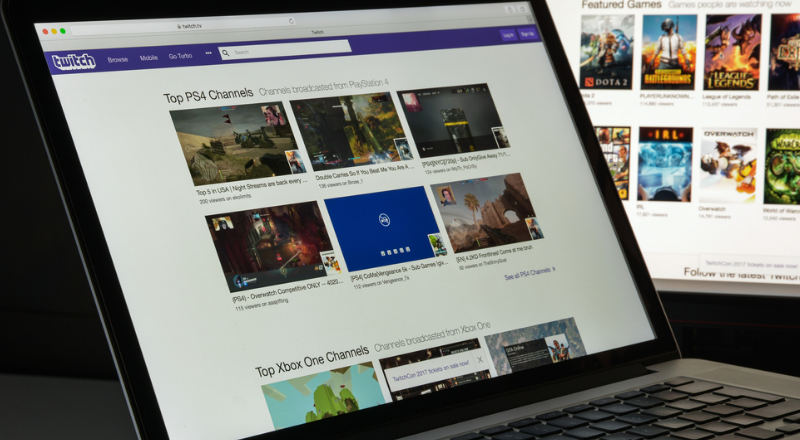 how to host a channel on twitch: twitch Desktop