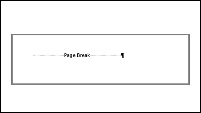 breaking page