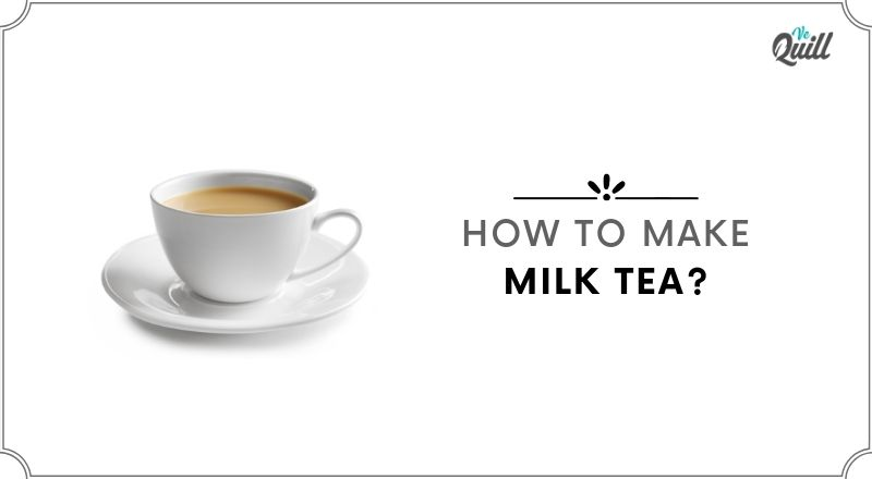 how to make milk tea