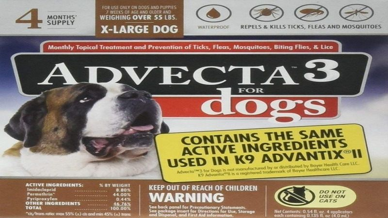 Advecta II Flea Medicine
