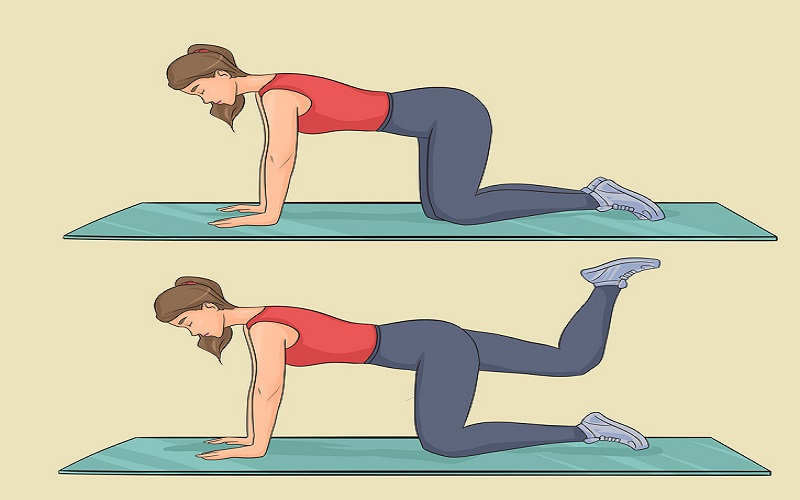 Bend And Kick, how to get a smaller waist