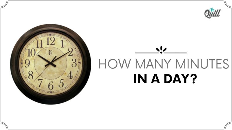 How many minutes in a day