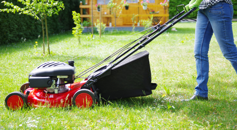 power lawnmower