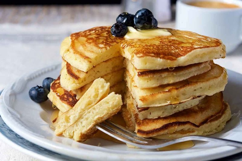 pancakes cheap and healthy food