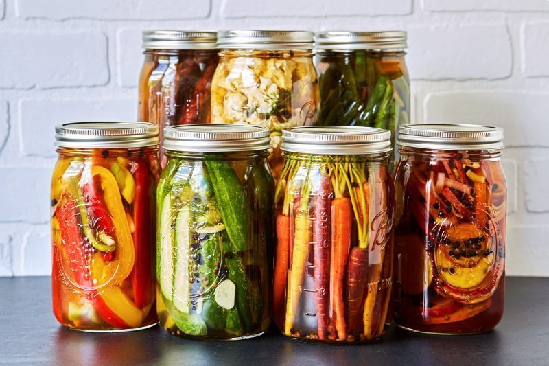Pickled vegetable cheap and healthy snack
