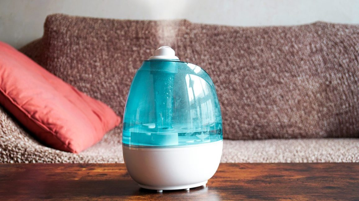 humidifier to cure sore throat